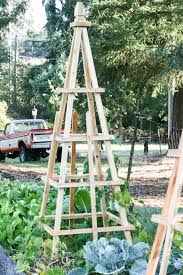 diy french tuteurs for the garden she