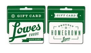 gift cards fast facts lowes foods