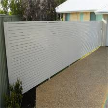China Aluminum Slat Privacy Fences Metal Slat Fence Gates Sliding Gate Driveway Door China Driveway Door Walkway Gate