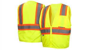 hi vis lime safety vest