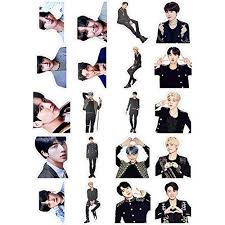 Hosston Bts Stickers Kpop Bangtan Boys Vinyl Decal Cute Cartoon Stickers For Mobile Phone Macbook Car Laptop Windows Water Bottles And Diy Scrapbooking Decoration Style 09 Buy Products Online With Ubuy Kuwait