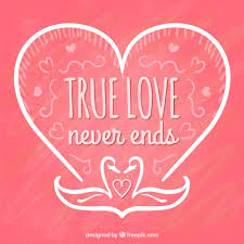 valentine s true love free vectors