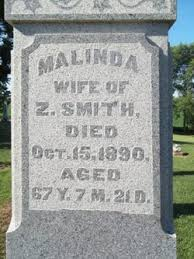 Malinda Smith (Unknown-1890) - Find A Grave Memorial