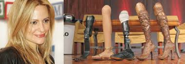 34. Aimee Mullins and a few of her remarkable prosthetic legs ...
