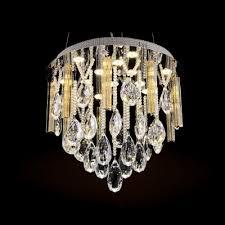 light led crystal large pendant