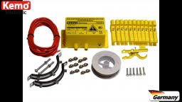 Fg025set Marten And Raccoon Repeller Electric Fence