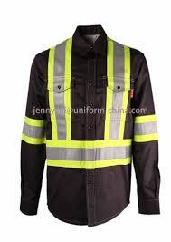 nfpa2112 2016 reflective tape fr shirt