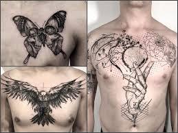 Tatuaze Na Klatce Piersiowej 35 Przykladowych Wzorow Dla