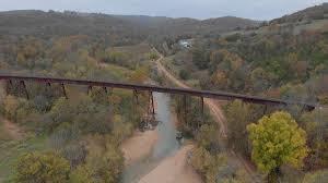 Myrtle Trestle On Bear Creek - Lost In The Ozarks