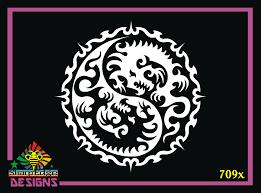 Dragon Design 709x Vinyl Decal