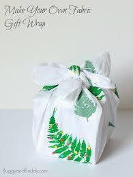 diy fabric gift wrap furoshiki