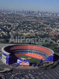 Shea Stadium Aerial View Ny Mets Photographic Print Bruce Clarke Allposters Com