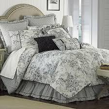 fl french toile king comforter set