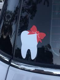 Tooth Vinyl Sticker Dental Dental Fun Dental Hygiene School Dental