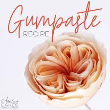 easy gumpaste recipe avalon cakes