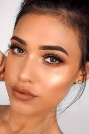 natural brown eye makeup look