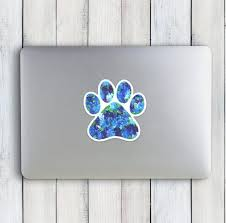 Paw Print Decal Paw Print Sticker Paw Print Car Decal Paw Car Sticker Paw Print Tumbler Decal Dog Lover Gift College Student Gift Paw Print Stickers Paw Print Decal