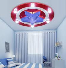 New American Captain Hero Ceiling Light Lamp Children Room Lighting Kid Boy Bedroom Ceiling Lights Room Lightchildren Room Light Aliexpress