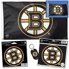 Boston Bruins Wincraft Flag Magnet Multi Use Decal Keychain Ultimate Fan Pack Set