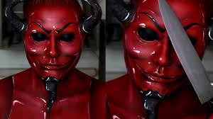 scream queens red devil makeup tutorial