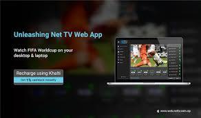 How to recharge Net TV App online using Khalti? - Khalti