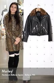 allsaints rigby lux removable faux fur