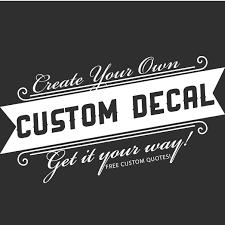 Custom Wall Decal
