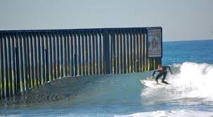 Surfing The U S Mexico Border Fence State Parks Surfing Mexico