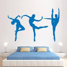 Giant Ballerina Vinyl Wall Art Sticker Bedroom Kids