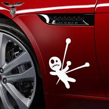 Empireying 3 Size 8 Colors Happy Funny Wizard Witchcraft Ragdoll Voodoo Doll Wicca Pagan Car Sticker Door Wall Decor Decal Gifts Aliexpress