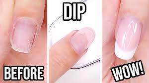 diy dip powder french manicure you