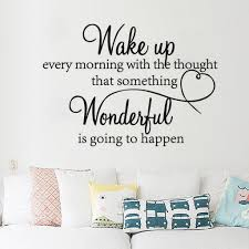 Wake Up Every Morning Dream Quote Wall Stickers Art Room Removable Decals Diy Buy At A Low Prices On Joom E Commerce Platform