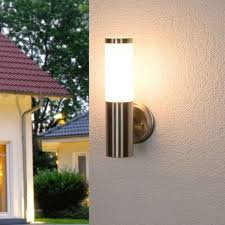modern outdoor wall lamp stainless