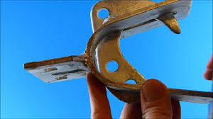 Rolling Chain Link Fence Gate Offset Latch Rolling Or Cantilevered Gate Latch Youtube