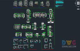aluminium doors dwg dwg com