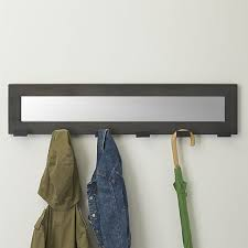 awesome coat hook rack with mirror
