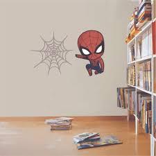Design With Vinyl Spider Baby Spiderman Cartoon Character Cartoons Wall Decal Wayfair