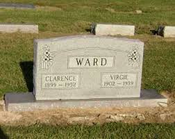 WARD, CLARENCE WILLIS - Lawrence County, Arkansas   CLARENCE WILLIS WARD -  Arkansas Gravestone Photos