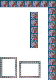 Window Frame Geometric Squares Etched Vinyl Stained Glass Film Static Cling Window Decal O Deals Tuan100408