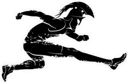 Spartan Race Athlete Leaping Sticker