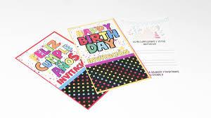 Tarjetas De Invitacion Feliz Cumpleanos Paquete X 10 Fiestas Y