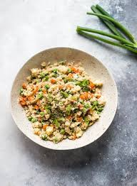 cauliflower fried rice recipe cooking lsl