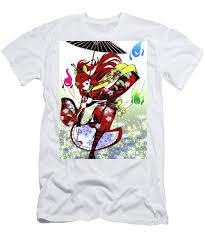Japanese anime ninja girl Modern Interior Art #3 T-Shirt for Sale by  ArtMarketJapan