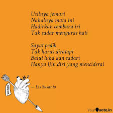 usilnya jemari nakalnya quotes writings by lis susanto