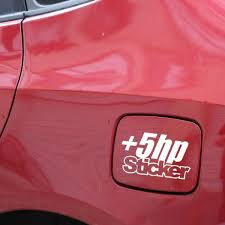 12 5x7 4cm 5 Hp Sticker Vinyl Decal Car Sticker Jdm Truck Window Funny Drift Black Silver C26 0016 Shop The Nation