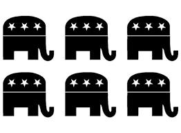 Small Republican Gop Elephant Phone Laptop Vinyl Decal Sticker Set Of Kandy Vinyl Shop