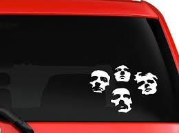 Amazon Com Queen British Rock Band Bohemian Rhapsody Album Cover Silhouette Car Truck Laptop Window Decal Sticker 6x4 Inches White Computers Accessories