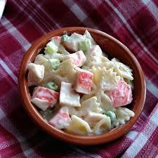 Seafood Pasta Salad Recipe