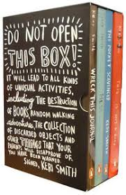 Keri Smith Do Not Open This Box 4 Books Collection Set Mess, Wreck This  Journal | eBay
