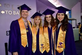 "Booker High graduation celebrates ""one school, unlimited futures"" - Jake  Silver, Isabella Smith, Sydney Robinson and Christina Santiago-Espinet 